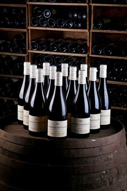 12 Blles Chassagne-Montrachet - 2007 - Domaine...