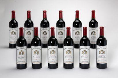 12 blles Château Grand Puy Ducasse - 2004...