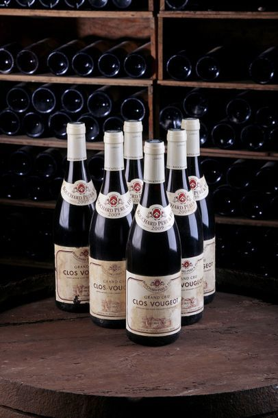 6 Blles Clos de Vougeot - 2009 - Domaine...