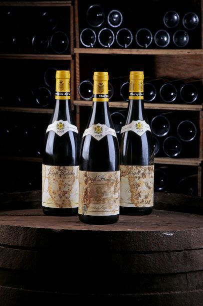 3 Blles Montrachet, Marquis de Laguiche -...