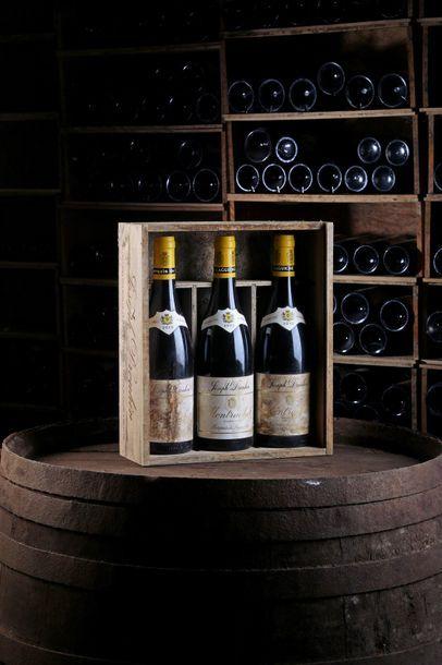 3 Blles Montrachet, Marquis de Laguiche - 2010 - Domaine Joseph Drouhin    - état/...