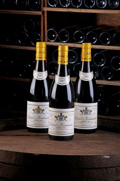 3 Blles Bâtard-Montrachet GC - 2007 - Domaine...