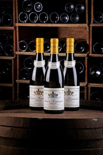 3 Blles Bâtard-Montrachet GC - 2010 - Domaine...