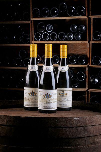 3 Blles Chevalier-Montrachet GC - 2013 -...
