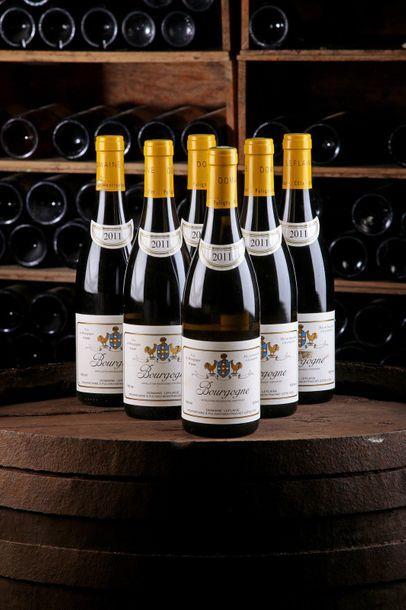 6 Blles Bourgogne - 2011 - Domaine Leflaive...