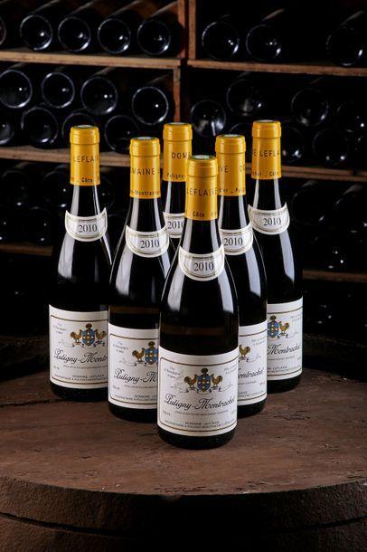 6 Blles Puligny-Montrachet - 2010 - Domaine...