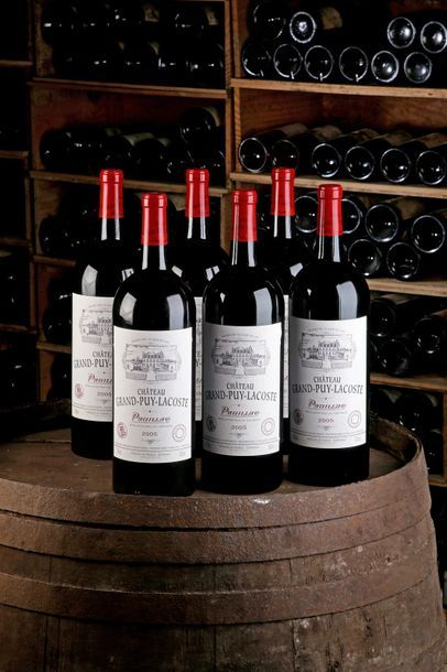 6 Mag Château Grand Puy Lacoste - 2005 -...