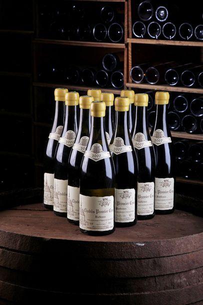 10 Blles Chablis 1er cru Butteaux - 2007...