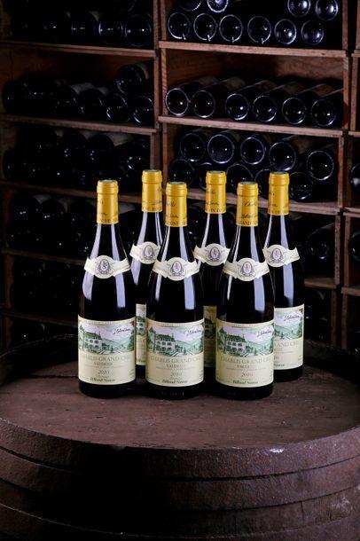 6 Blles Chablis GC Vaudésir - 2010 - Domaine...