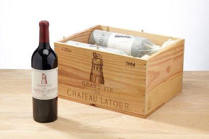 6 blles Château Latour - 2004 - Pauillac...