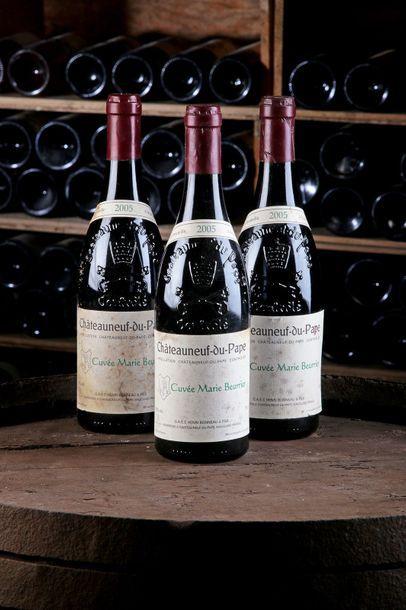 3 Blles Châteauneuf-du-Pape