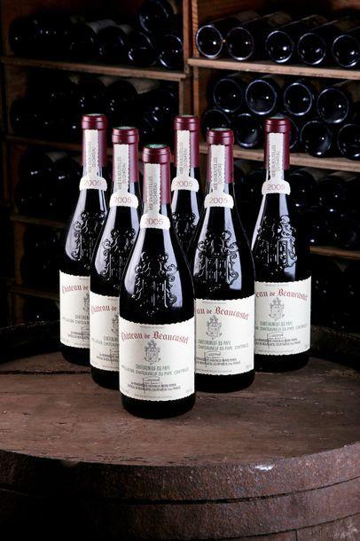 6 Blles Châteauneuf-du-Pape - 2005 - Château...