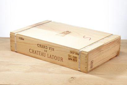 [MIX] Lots 6 blles panachées vins de Latour:...