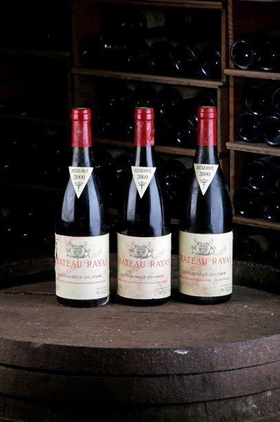 3 Blles Châteauneuf-du-Pape - 2000 - Château...
