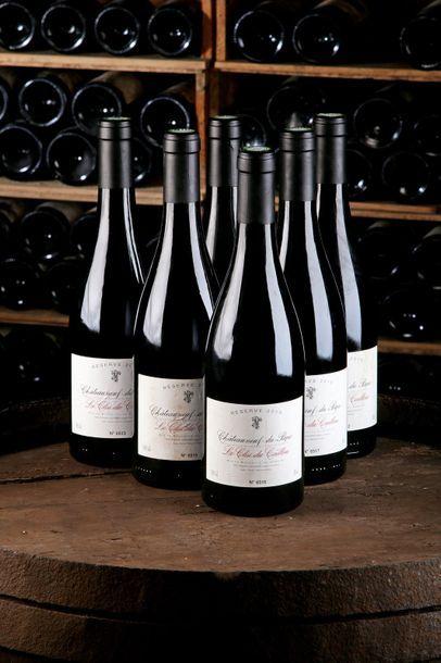 6 Blles Châteauneuf-du-Pape - 2010 - Le Clos...