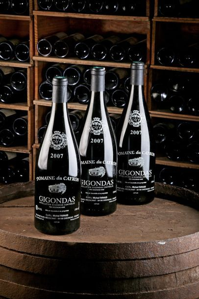 3 Mag Gigondas - 2007 - Domaine du Cayron...