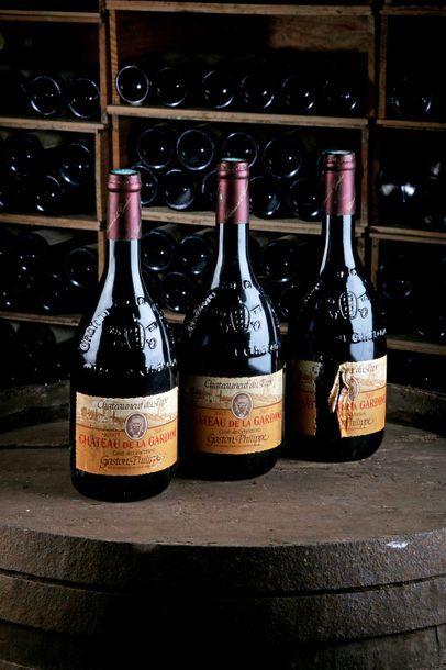 3 Blles Châteauneuf-du-Pape rge Cuvée des...