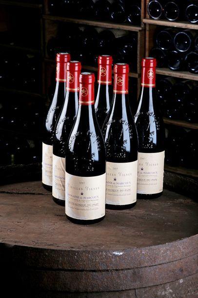 6 Blles Châteauneuf-du-Pape Vieilles Vignes...