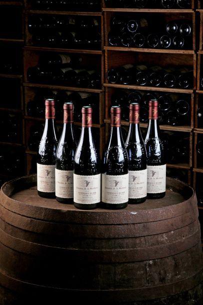 6 Blles Châteauneuf-du-Pape rouge - 2006...