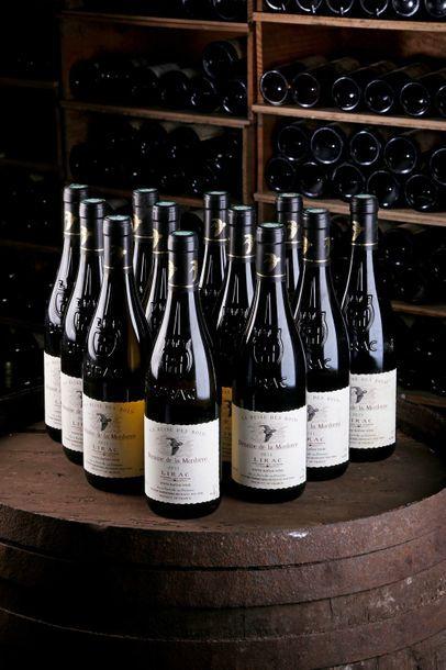 12 Blles Lirac Blanc- 2011 - Domaine de la...