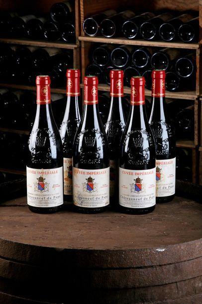 6 Blles Châteauneuf-du-Pape Cuvée impériale...