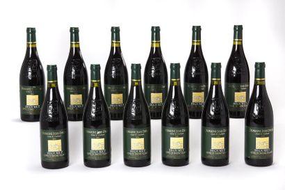 12 blles Côtes du Rhône Villages Seguret...