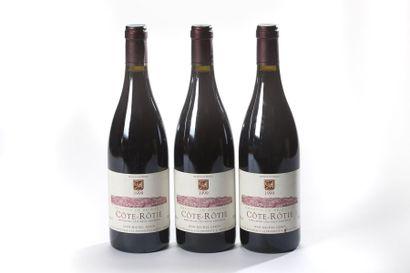 3 blles Côte-Rotie - 1999 - Jean-Michel Gerin...