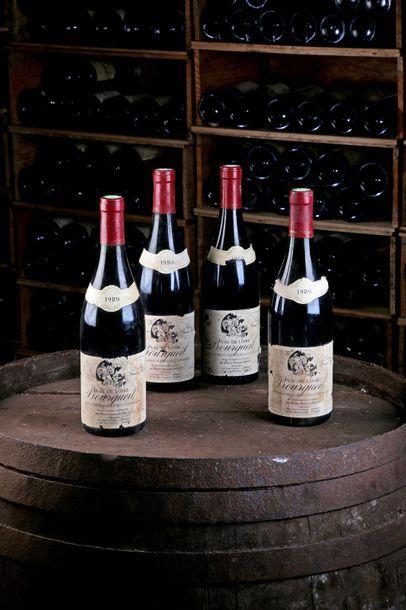 4 Blles Bourgueil - 1989 - Domaine Pierre-Jacques...