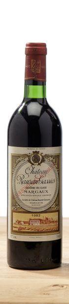 1 blle Château Rauzan-Gassies - 1982 - 2e...