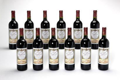 12 blles Château Rauzan-Gassies - 2005 -...