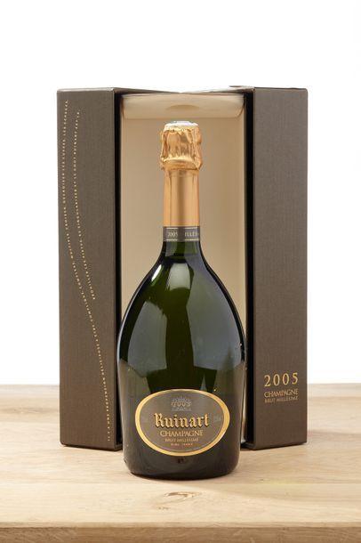 1 blle Champagne Brut Millésimé - 2005 -...