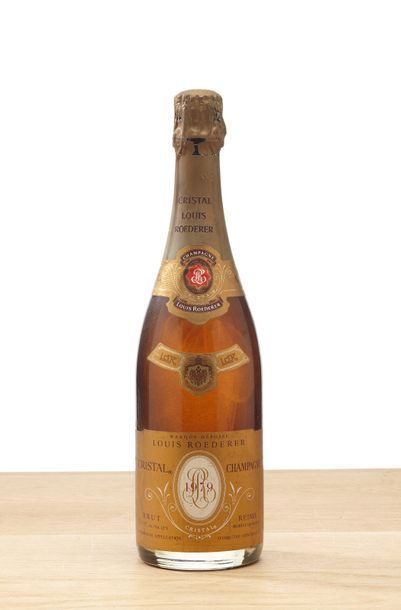 1 blle Champagne Crystal Brut - 1979 - Maison...