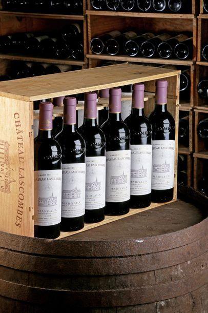 12 Blles Château Lascombes - 2005 - 2e GCC...