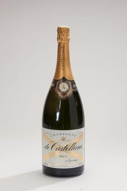6 Mag Champagne brut blanc - NM - de Castellane...