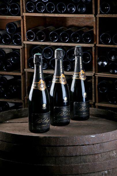 3 Blles Champagne - 2002 - Pol Roger    -...