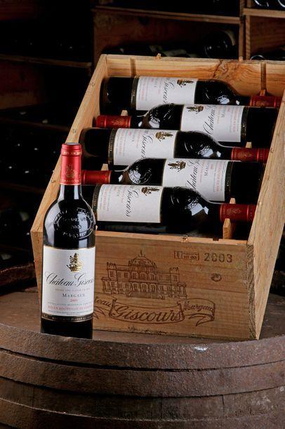 12 Blles Château Giscours - 2003 - 3e GCC...