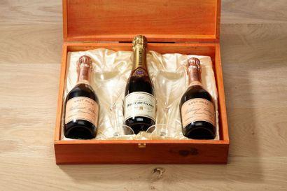 1 Coffret dégustation Champagne Billecart-Salmon...