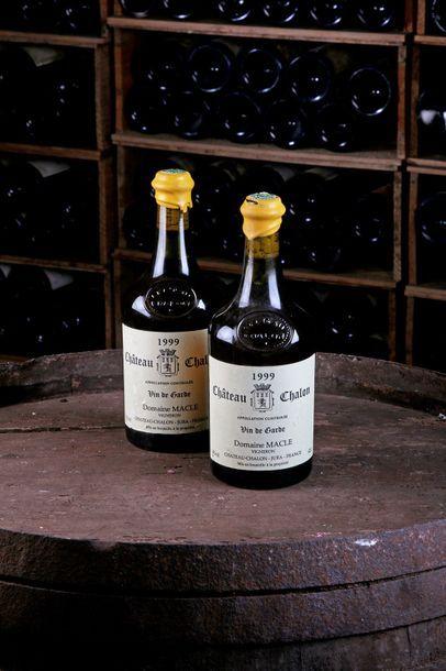 2 Blles Château-Chalon - 1999 - Domaine Macle...