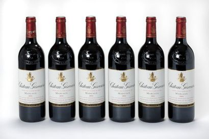 6 blles Château Giscours - 2004 - 3e GCC...