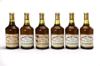 6 blles Vin Jaune - 1979 - La Fruitière Vinicole...