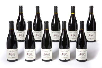 10 blles Cairanne cuvée prestige - 2000 -...