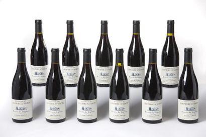 11 blles Cairanne cuvée des Seigneurs - 2000...