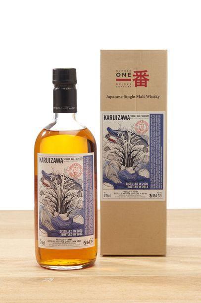 1 blle Whisky Karuizawa Single Malt Dragon...