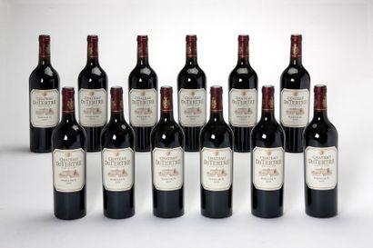 12 blles Château du Tertre - 2009 - Margaux...