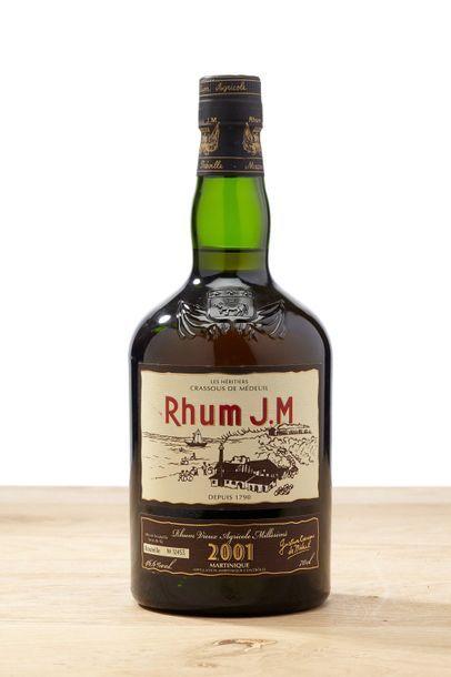 1 blle Rhum JM - 2001 - Héritiers Crassous...