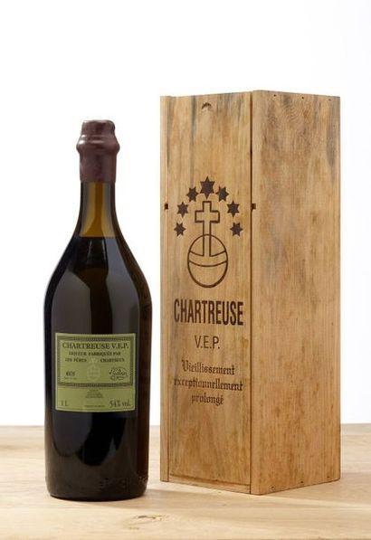 1 blle Chartreuse 1L - VEP - Pères Chartreux...