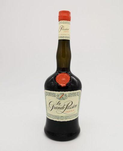2 blles Liqueur La Grande Passion - Mani...