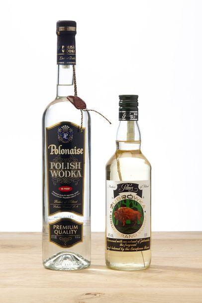 [MIX] LOT 3 blles Vodka :  - 1 blle Vodka...