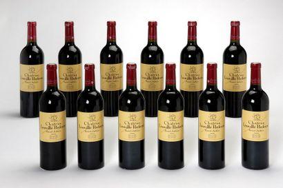12 blles Château Léoville-Poyferré - 2004...