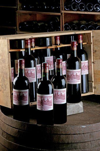 12 Blles Château Cos d'Estournel - 2002 -...